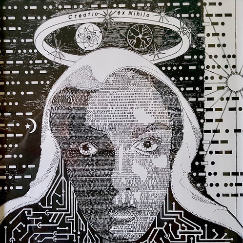 """""""Bit Map of Mother Mary"""" Jeffrey Helmuth"""