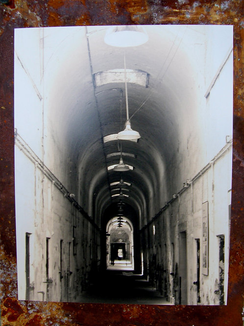 """""""Eastern State Penitentiary—Great Hall"""" Erica Resnick"""
