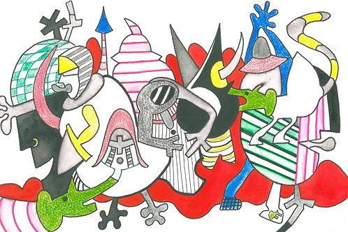 """Medieval Creatures"" Edward Berkise"