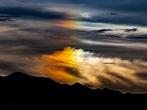 """""""Stormy Sunset - Sun Dog"""" Edie Galindo"""