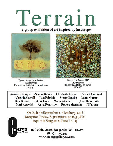 Terrain: A Group Exhibition of Art Inspired By Landscape