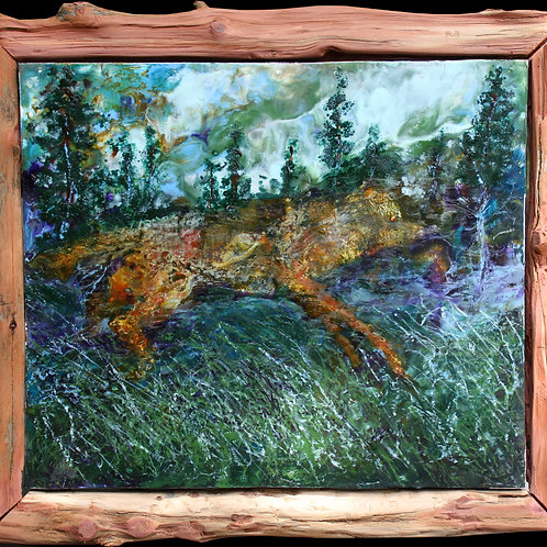 """""""Wolf of the Northern Forest"""" Grey Ivor Morris"""