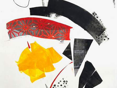 Emerge Gallery features monotypes by Susanna Ronner during Paper Trail exhibition