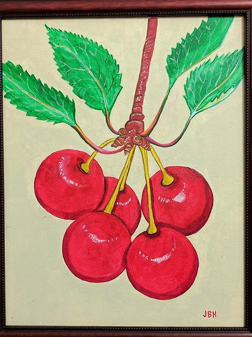 """""""Cherries"""" Jeffrey Helmuth"""