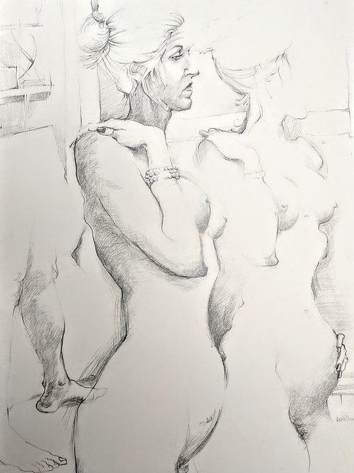"""Figure Study #3"" Loel Barr"