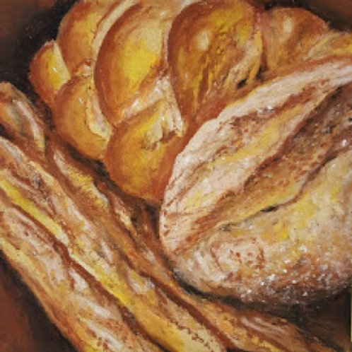 """Bread Sticks (print)"" Wendy Doney"
