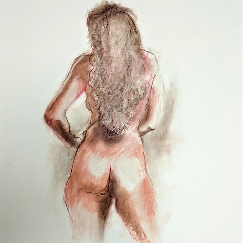 """Nude back"" Loel Barr"