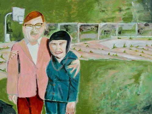 """""""Visiting Day, 1985"""" Al Desetta"""