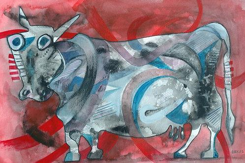 """Bull Cow"" Edward Berkise"
