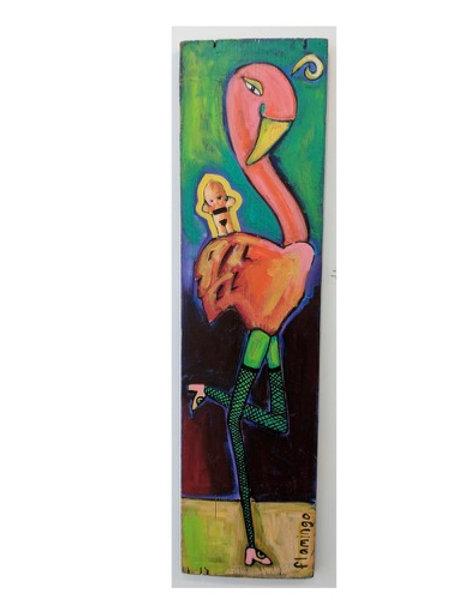 """Flamingo 1"" Kelli Bickman"
