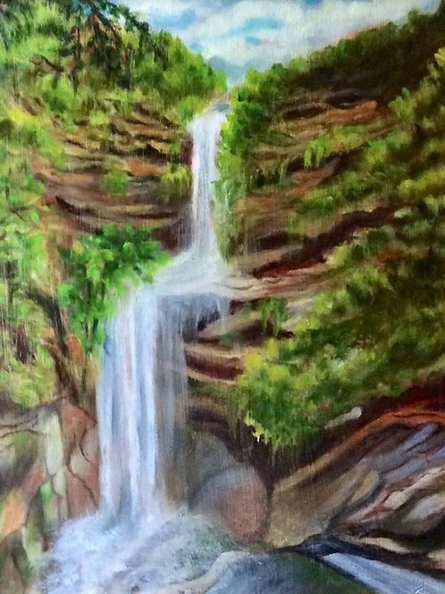 """""""Kaaterskill Falls"""" Sandra Pysher"""