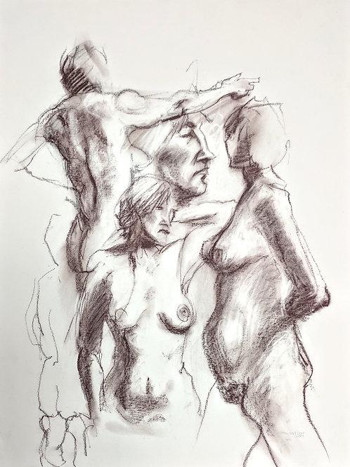 """Figure Study #4"" Loel Barr"