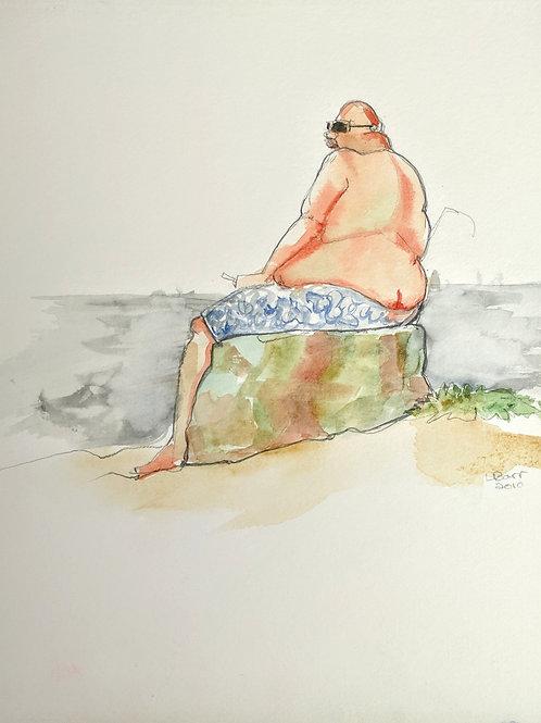"""""""Sunbather"""" Loel Barr"""
