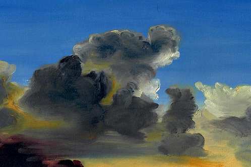 """Gathering the Storm Clouds"" Linda Lynton"