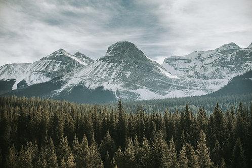 Rocky Mountains via HWY 1