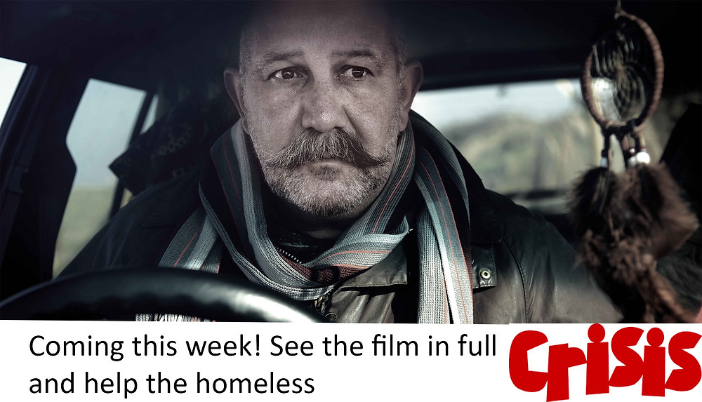 This week supporters of Crisis atChristmas can see the film in full for free online and help the great work of this charity. Crisis at Christmas provides warmth, companionship and support, tackles loneliness and isolation and helps people take their first steps out of homelessness. People like Nathan in Black Car Home. If you would like to help Crisis then please donate or volunteer through the link http://www.crisis.org.uk/pages/volunteer-christmas.html