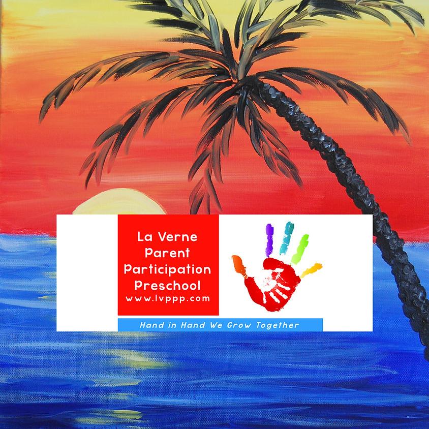 La Verne Parent Participation Preschool Virtual Online Paint Fundraising Event