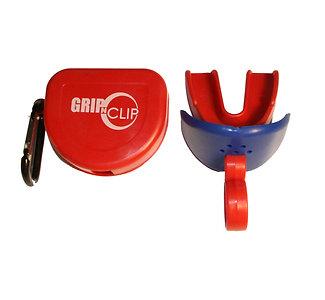 Single GNC Sports Mouthpiece w/o strap, lip guard and storage case (Red)