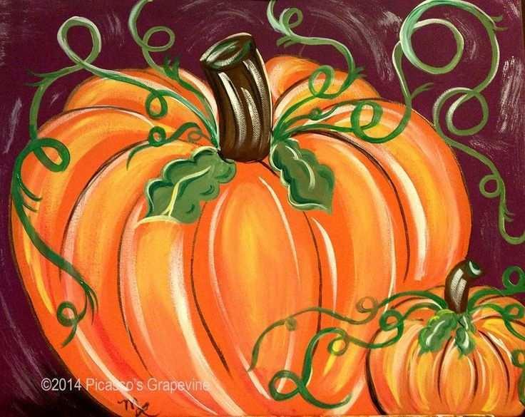 pumpkin-painting-on-canvas-new-25-basta-