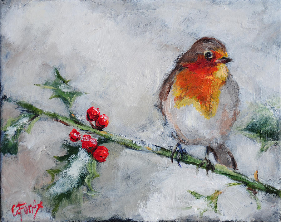 bird-in-the-winter-snow-carole-foret