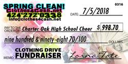 Charter Oak High School Cheer