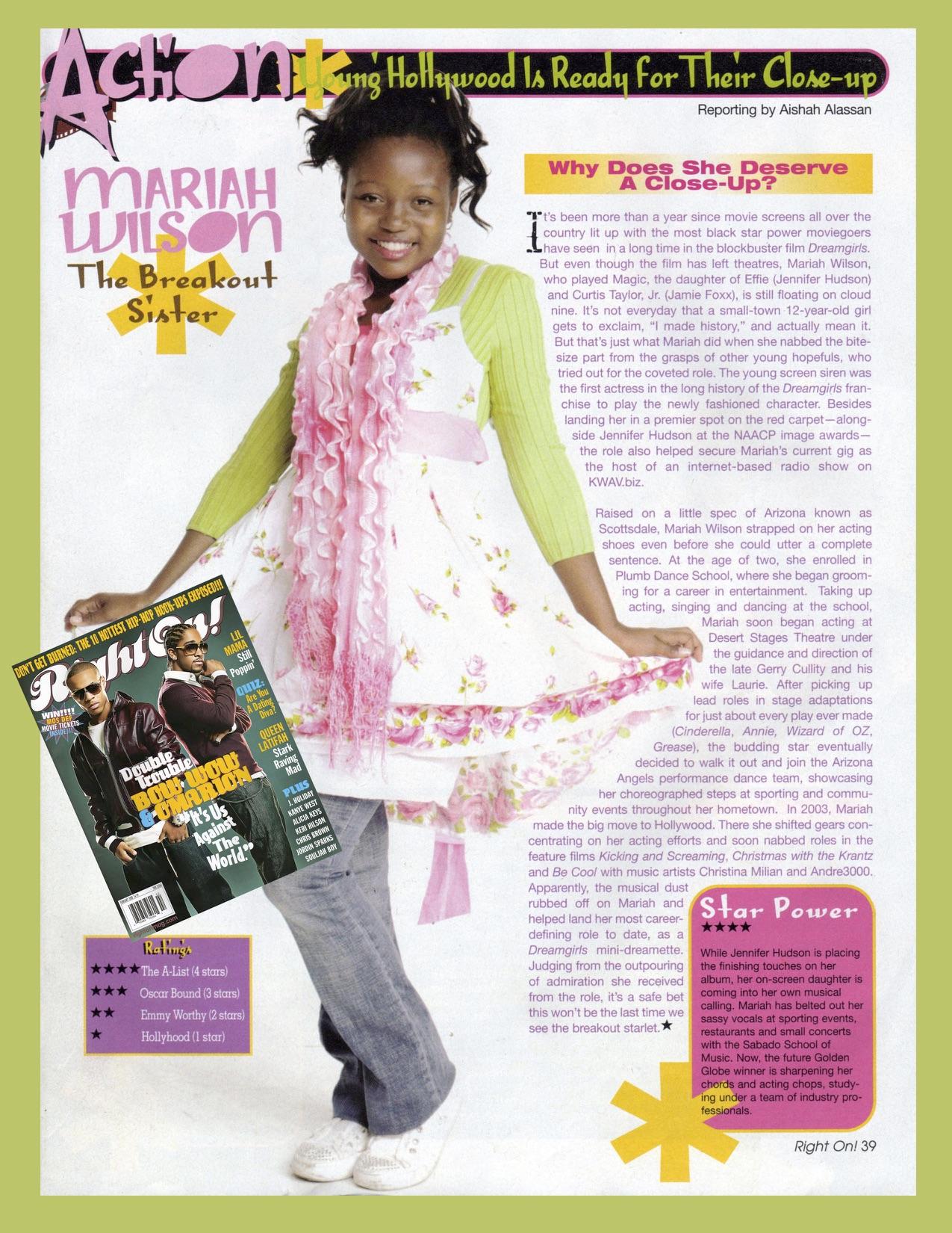 Mariah's Press'09