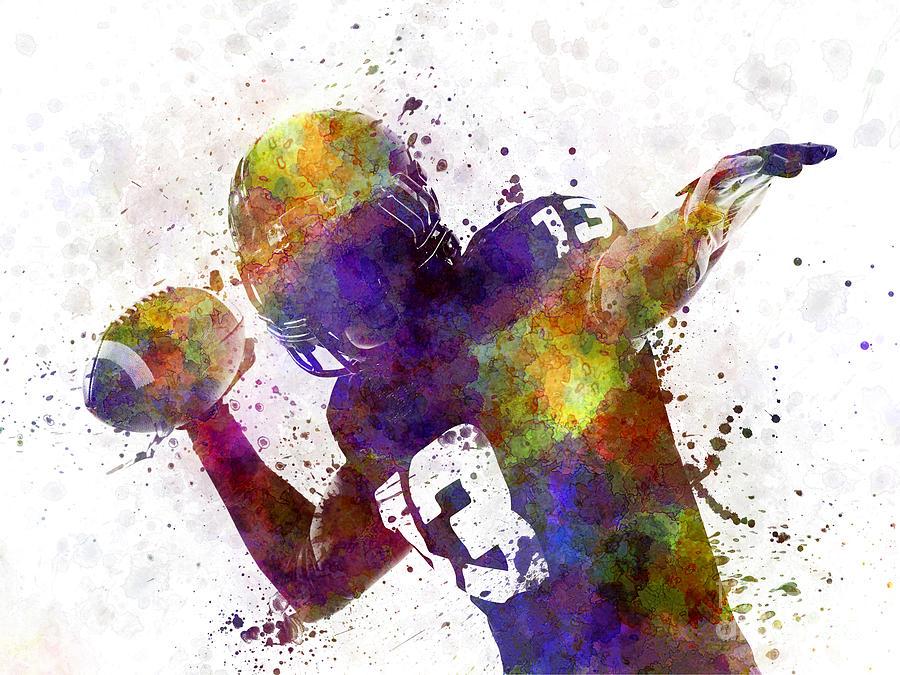 american-football-player-quarterback-pas
