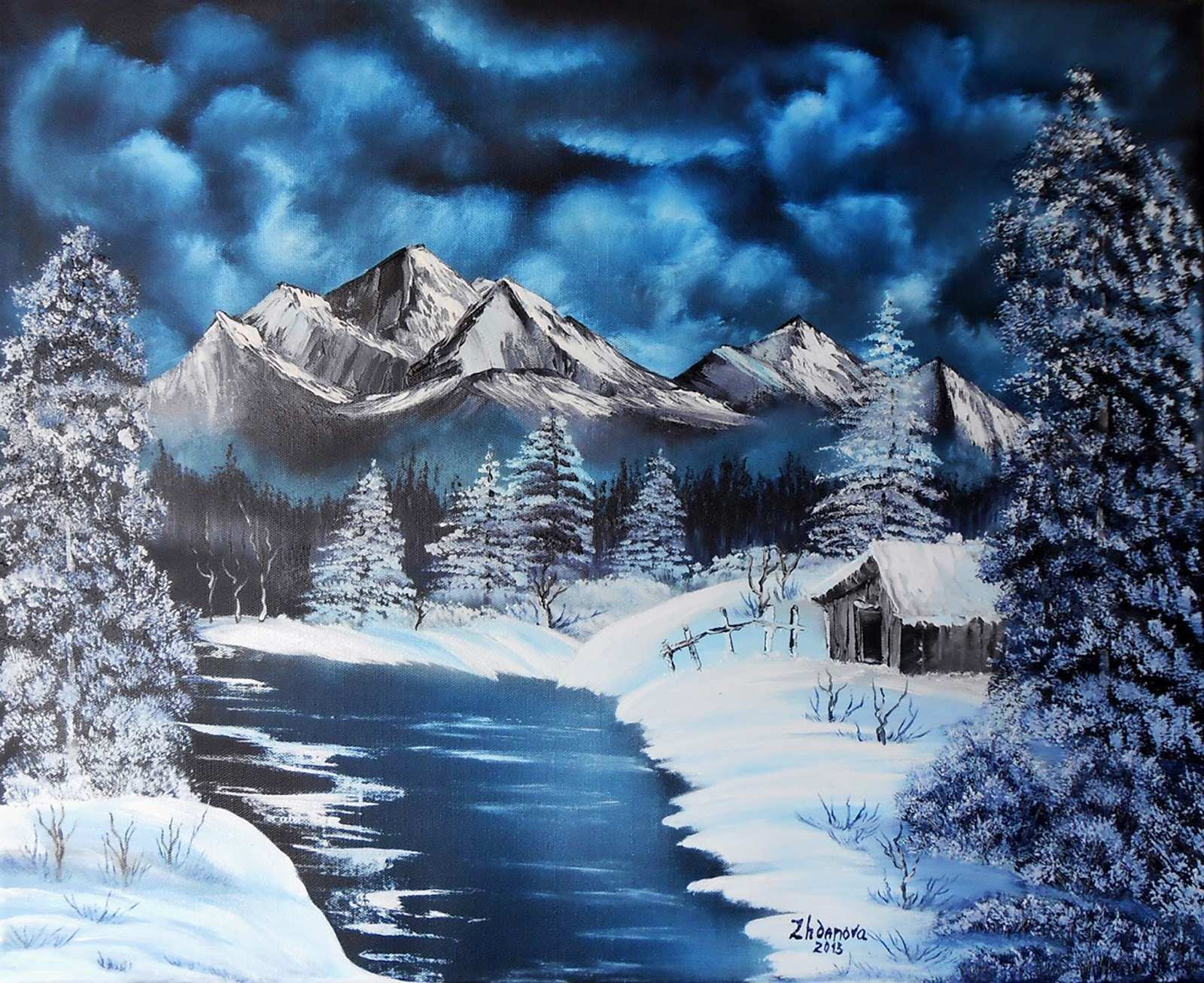 winter-canvas-paintings-elegant-original