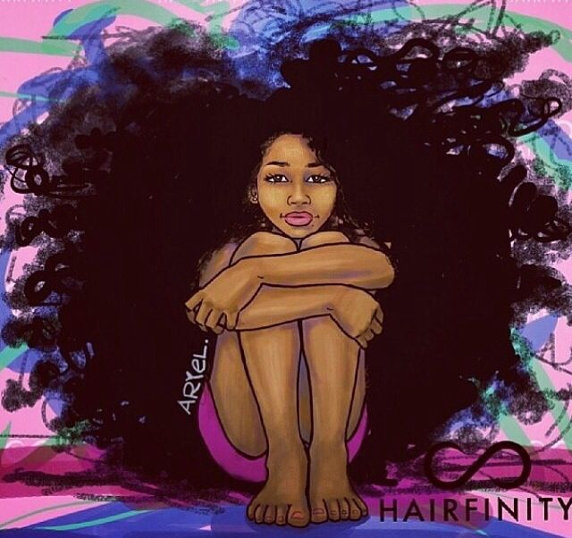 11-curly-afro-black-hair-art