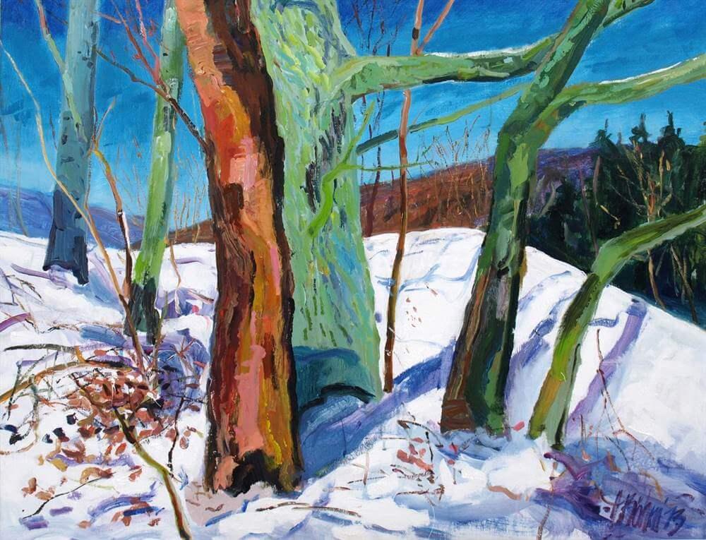 1-harald_boehm_colour_trees_winter_100x1