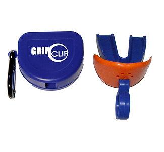 Single GNC Sports Mouthpiece w/o strap, lip guard and storage case (Royal Blue)