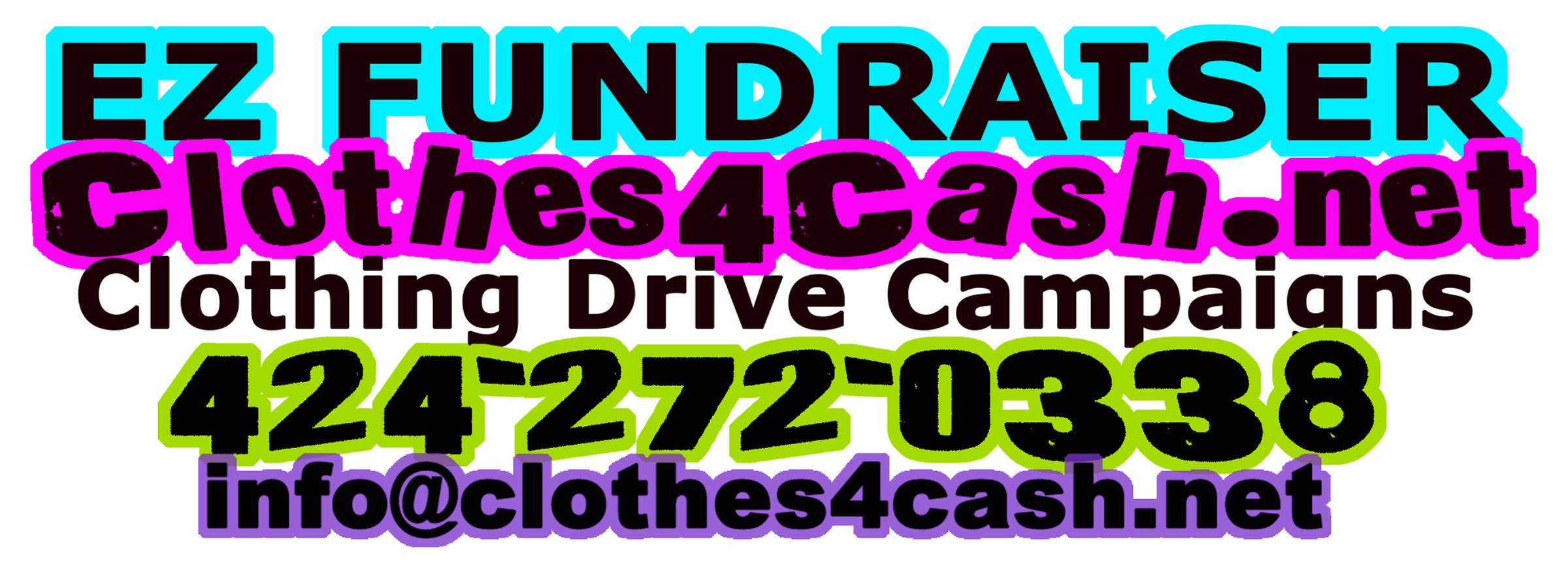 Clothes4Cash - Fundraiser Logo