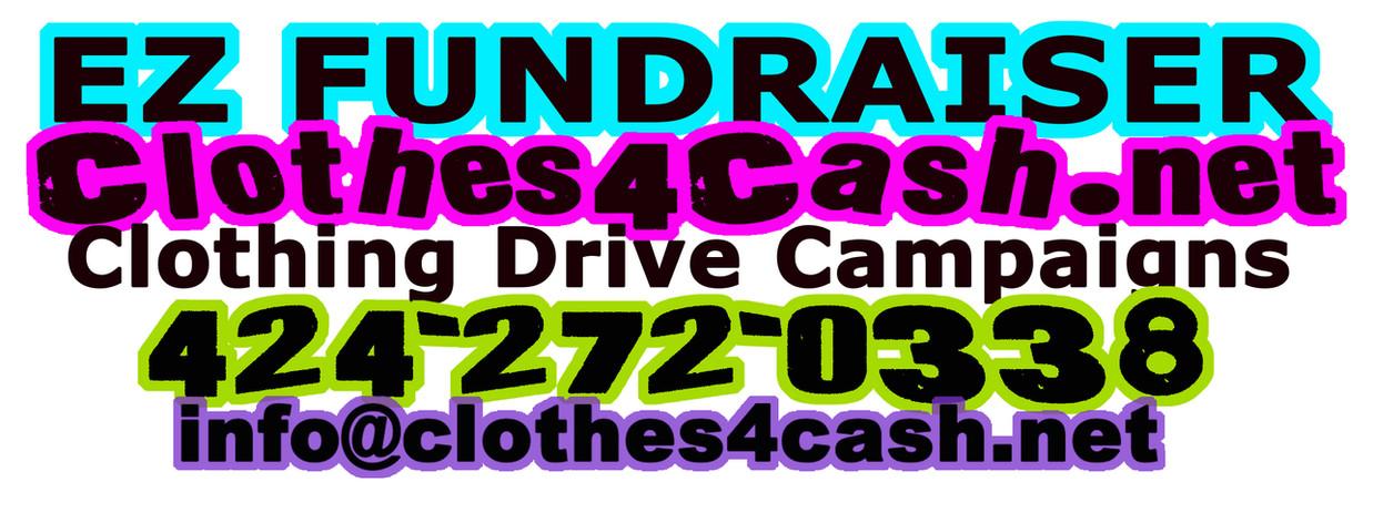 Clothes4Cash - Fundraiser Logo