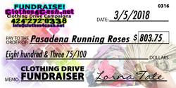 Pasadena Running Roses
