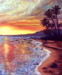 beach-canvas-painting-lovely-sunset-on-t