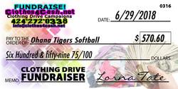 Ohana Tigers Softball