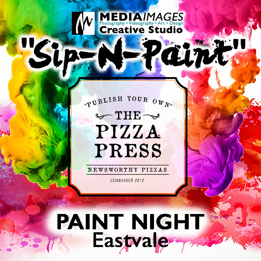 """The Pizza Press """"Paint Night"""" Event"""