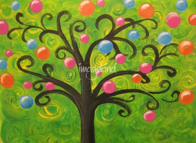 Whimsical-Christmas-tree_art