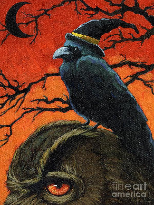 owl-and-crow-halloween-linda-apple