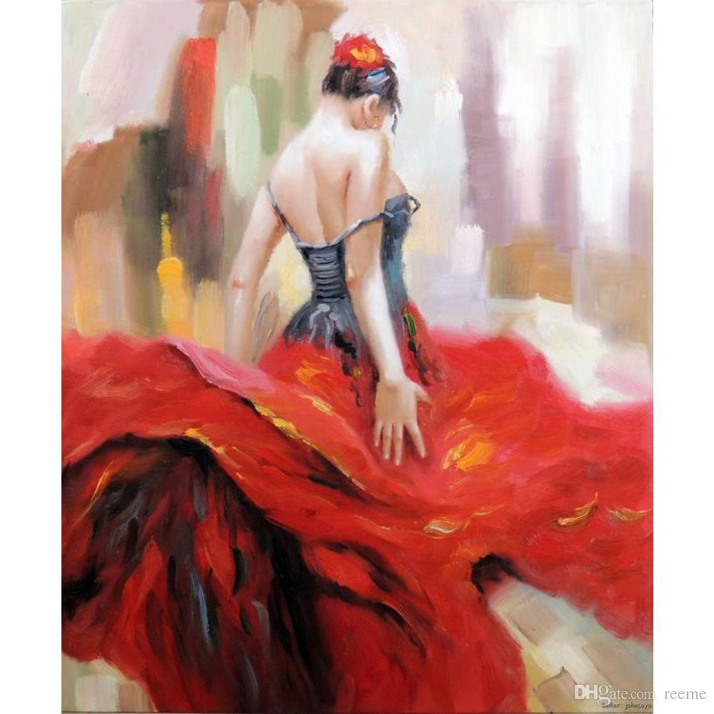 figure-paintings-flamenco-dancer-spanish