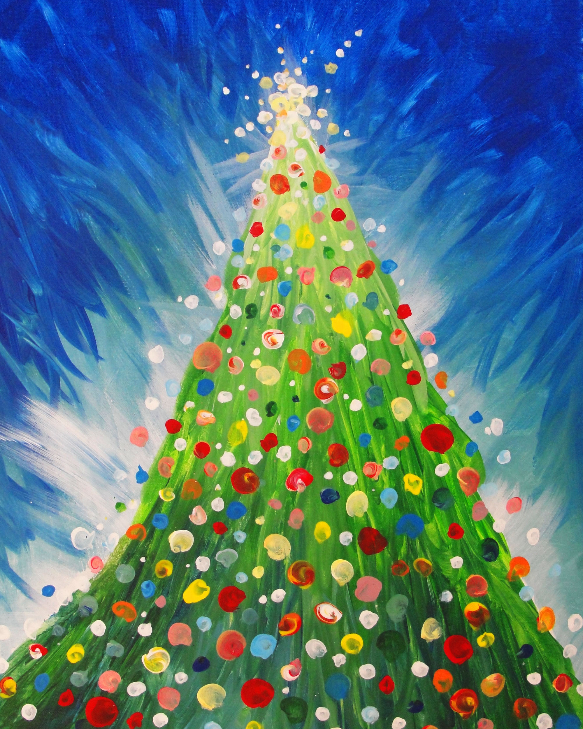 easy-christmas-painting