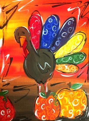 Turkey-Painting-Art-Class-Oklahoma-City.