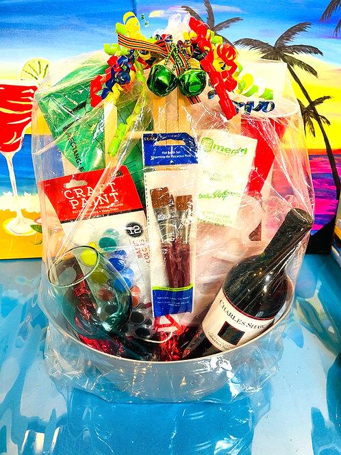 MI Holiday Paint Kit w/Wine