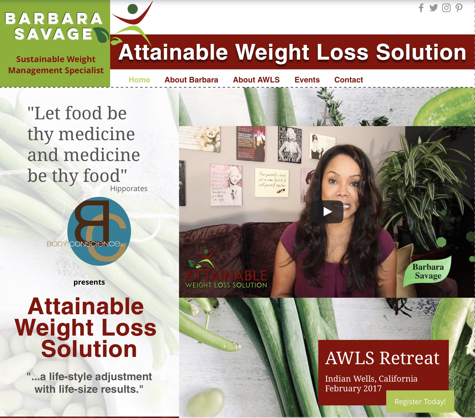 ATTAINABLE WEIGHT LOSS SOLUTION