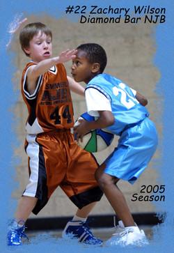 Zach Basketball Poster3x4
