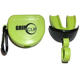 Single GNC Sports Mouthpiece w/o strap, lip guard and storage case (Neon)