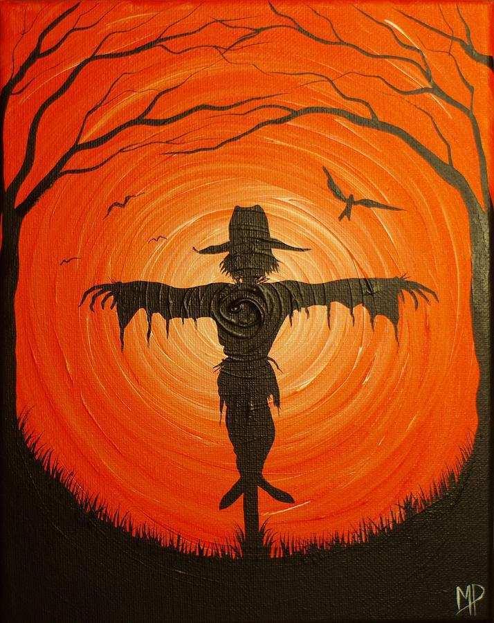 halloween-painting-elegant-scarecrow-pai