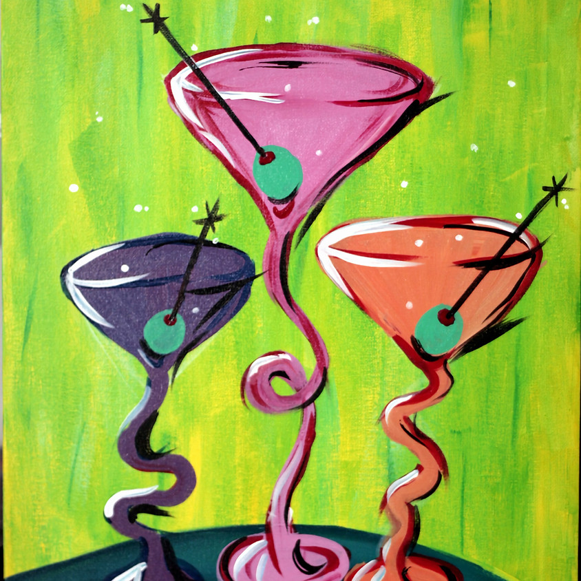 """2for1 Grand Opening Special """"Sip-N-Paint"""""""