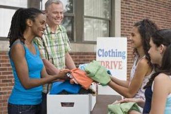 Clothing Drive Fundraising Donation