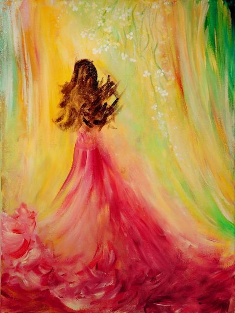 expecting-acrylic-painting-by-teresa-weg